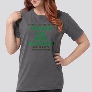 Whale Oil Beef Hooked St. Patricks Day Design T-Sh