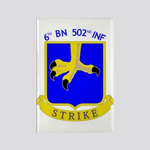 6/502 INF Rectangle Magnet