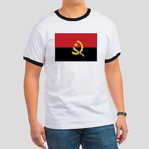 Angola Flag Ringer T