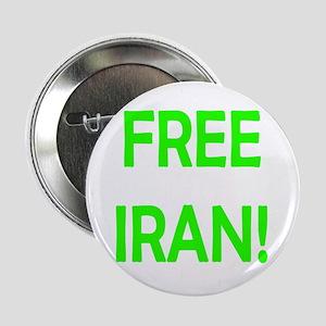 """Free Iran - Period! 2.25"""" Button"""