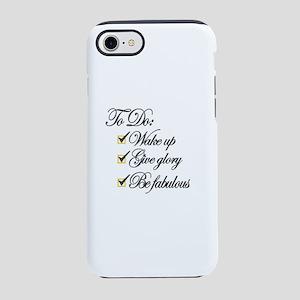 Daily to do iPhone 7 Tough Case
