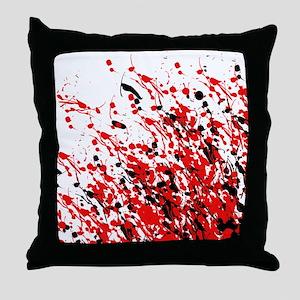 Drip & Splash Throw Pillow