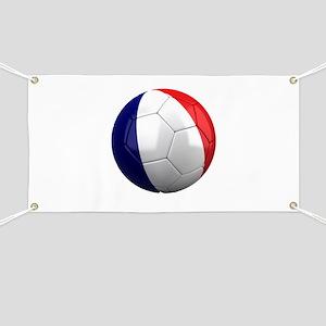French Soccer Banner