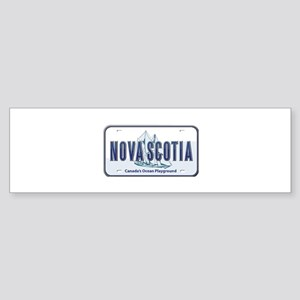 Nova Scotia Plate Bumper Sticker
