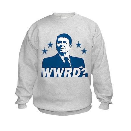 What Would Reagan Do? Kids Sweatshirt