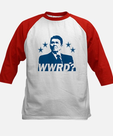 What Would Reagan Do? Kids Baseball Jersey