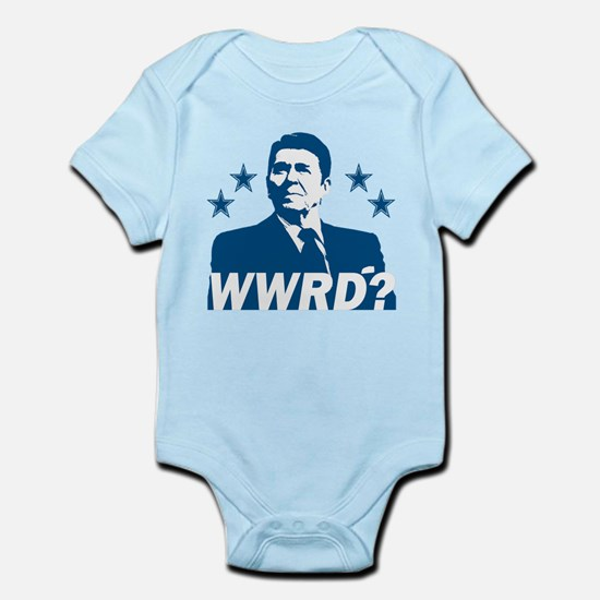 What Would Reagan Do? Infant Bodysuit