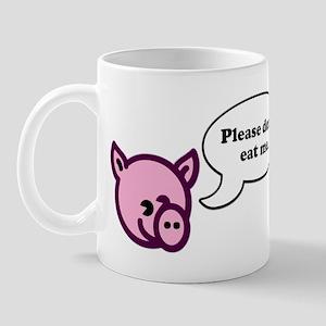 Please Don't Eat Me - Pig Mug
