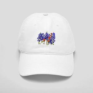 BLUEBONNETS AND PAINTBRUSH Cap
