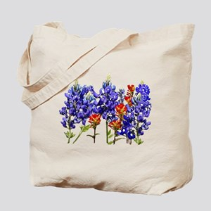 BLUEBONNETS AND PAINTBRUSH Tote Bag