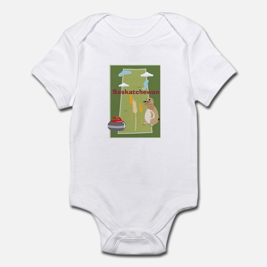 Saskatchewan Map Infant Bodysuit