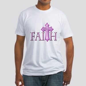 Woman of Faith Fitted T-Shirt
