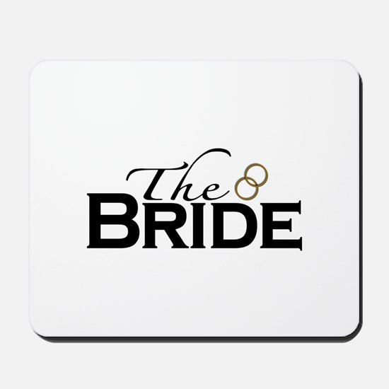 The New Bride Mousepad