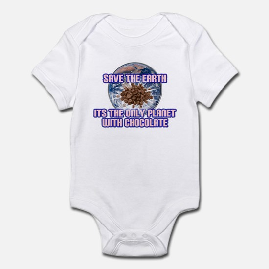 Save Earth only planet with c Infant Bodysuit