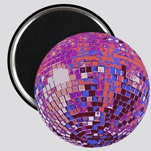 Pink Disco Ball Magnet