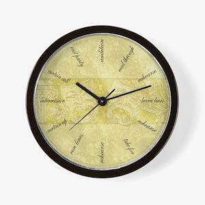 Theater Life Wall Clock