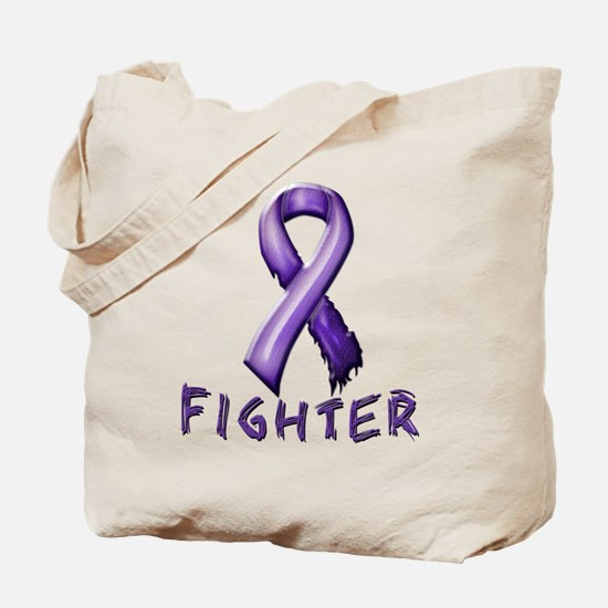 Alzheimer's Fighter Tote Bag