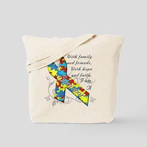 Autism Survivor Tote Bag