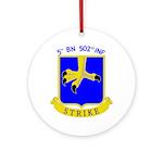 5/502 INF Ornament (Round)