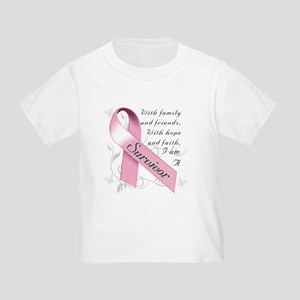 Breast Cancer Survivor Toddler T-Shirt