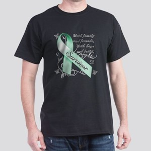 Ovarian Cancer Survivor Dark T-Shirt