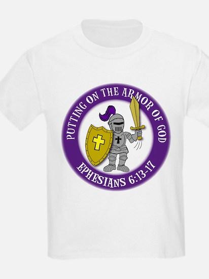 Armor in circle T-Shirt