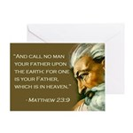 Funny Father's Day Secular Greeting Card