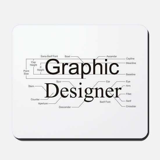 Graphic Designer Mousepad