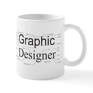 graphic designer mugs cafepress