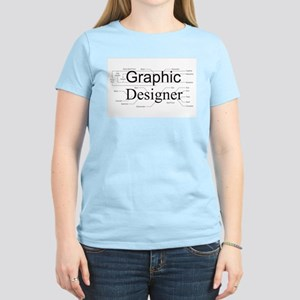 Graphic Designer Women's Light T-Shirt