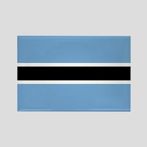 Botswana Flag Rectangle Magnet