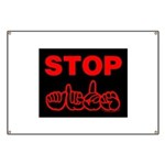 Stop AIDS Banner