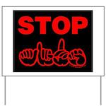 Stop AIDS Yard Sign