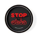 Stop AIDS Wall Clock
