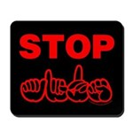 Stop AIDS Mousepad