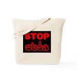 Stop AIDS Tote Bag