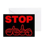 Stop AIDS Greeting Cards (Pk of 20)