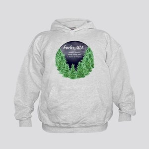 Cloudy with a Chance of Vampires Kids Hoodie