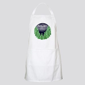 Cloudy with a Chance of Vampires BBQ Apron
