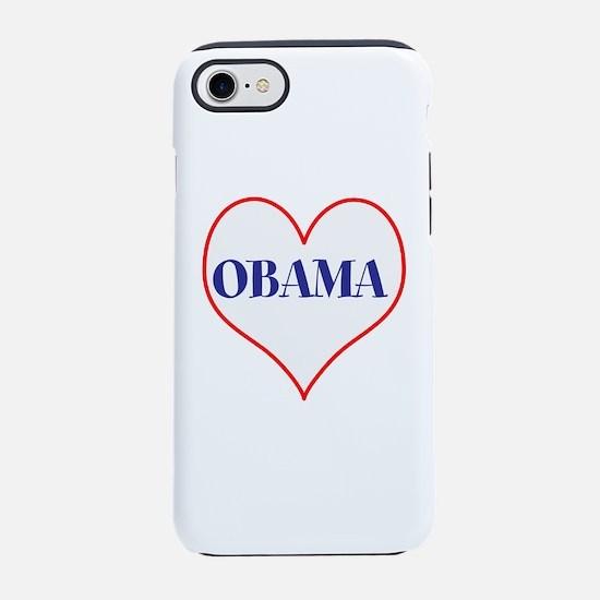 I love Obama iPhone 7 Tough Case