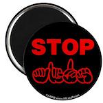 Stop AIDS Magnet