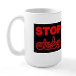 Stop AIDS Large Mug