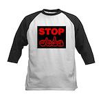 Stop AIDS Kids Baseball Jersey