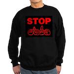 Stop AIDS Sweatshirt (dark)