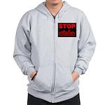 Stop AIDS Zip Hoodie
