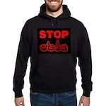 Stop AIDS Hoodie (dark)