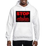 Stop AIDS Hooded Sweatshirt