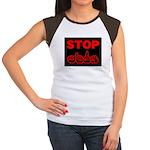 Stop AIDS Women's Cap Sleeve T-Shirt