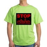 Stop AIDS Green T-Shirt