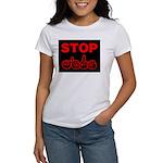 Stop AIDS Women's T-Shirt